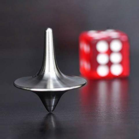 Inception Stainless Steel Spinning Top Totem | eBay
