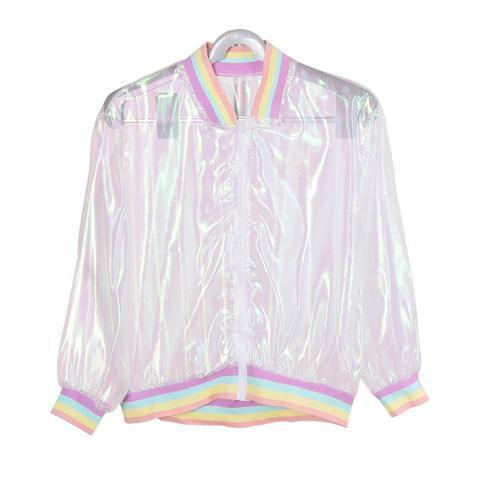 Rainbow See Through Jacket - INU INU
