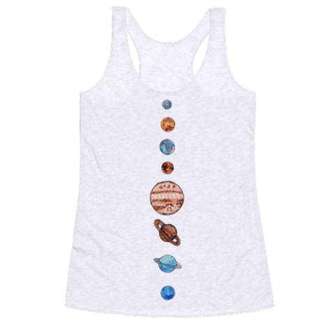 Solar System | T-Shirts, Tank Tops, Sweatshirts and Hoodies | HUMAN