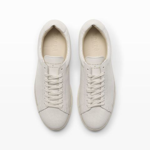 Zespa Perforated Sneaker - Flats The Shoe Shop at Club Monaco