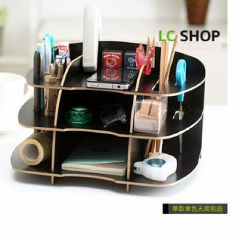 YESSTYLE: Lazy Corner- DIY Organizer Stand (Black - One Size) - Free International Shipping on orders over $150
