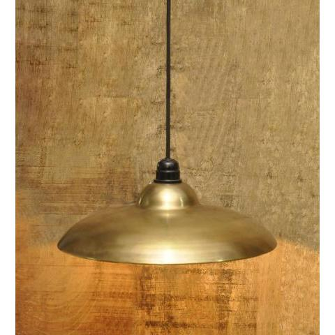 Buy Brass Antique Vintage Barn Hanging Light by Logam  Online  - Eclectic - Hanging Lights - Pepperfry