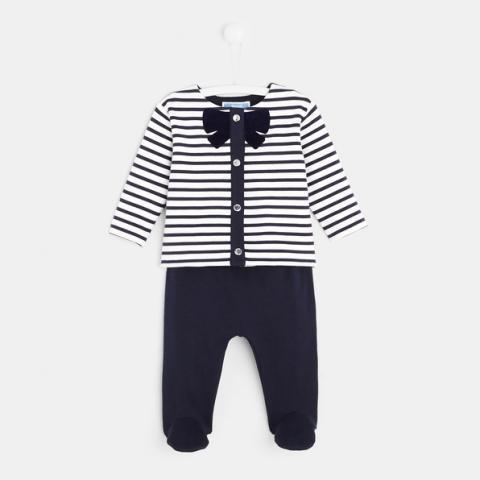 Ensemble bébé fille en molleton | Jacadi Paris