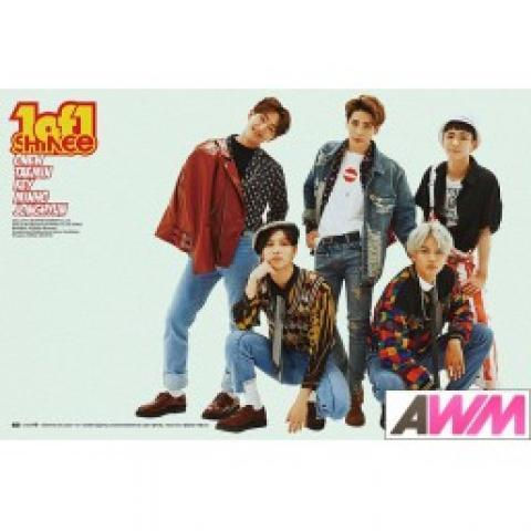 Affiche officielle SHINee - 1 of 1 (Poster normal) - Asiaworldmusic.fr - Site de vente en ligne des magasins MUSICA