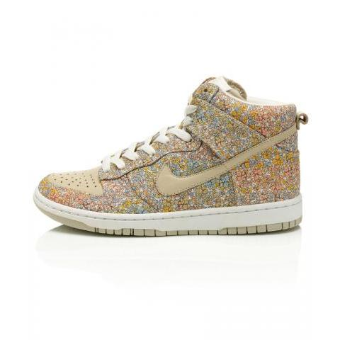 Douglas Stripe High Skinny Dunks, Liberty Nike Autumn Collection. Shop the latest Liberty Nike collection at Liberty.co.uk