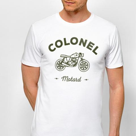 T-shirt Colonel motard | Monsieur T-shirt