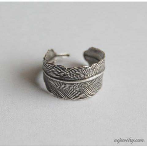 Unexpected Expectancy | Feather Ring | Online Store Powered by Storenvy