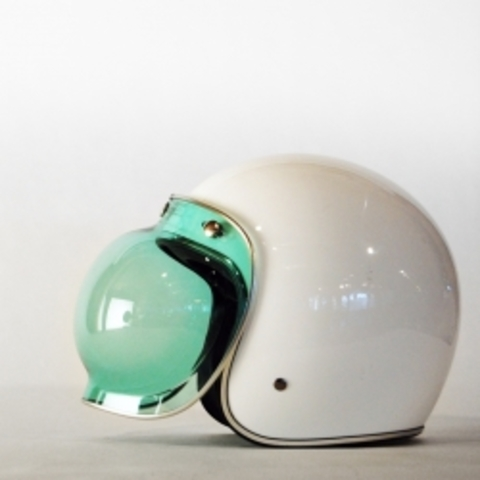 The Beautiful Bell Jet Bubble Visor Might Be The Perfect Addition To Your Bike Helmet! - #43953 - NOTCOT.ORG