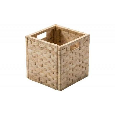 Buy Argos Home Water Hyacinth Cubed Storage Basket - Small Weave | Decorative boxes and baskets | Argos