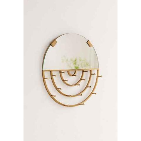 Aimee Jewelry Storage Hanging Mirror - Urban Outfitters