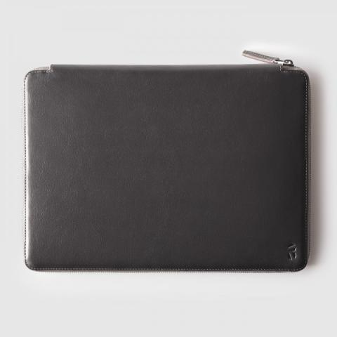 Octovo | The Mac Folio | MacBook zipped Case in Italian Leather