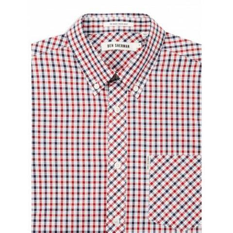 Blue Depths House Check Shirt | Shirts | Ben Sherman