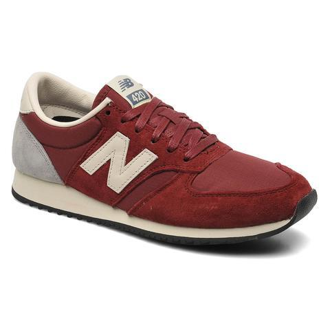 New Balance U420 W (Bordeaux) - Baskets chez Sarenza (201480)