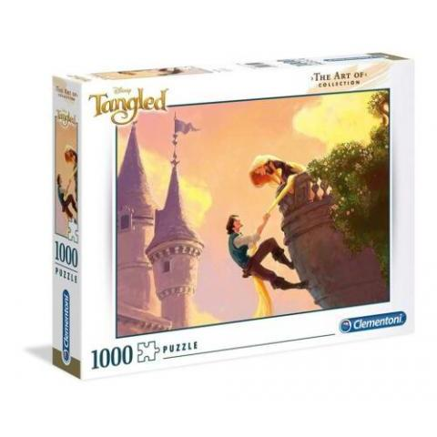 Clementoni The Art Of Disney Tangled 1000 Piece Jigsaw Puzzle 8005125394906 | eBay
