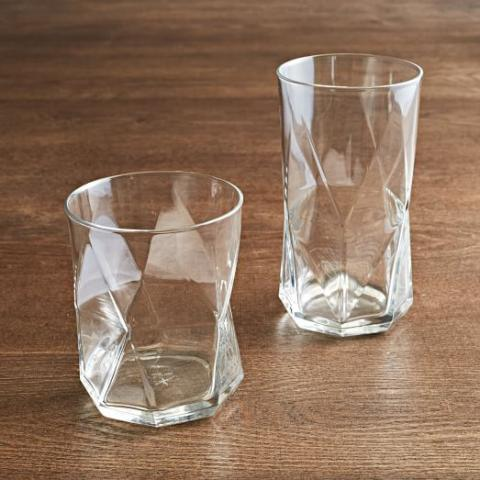 Cassiopeia Glassware Set | west elm