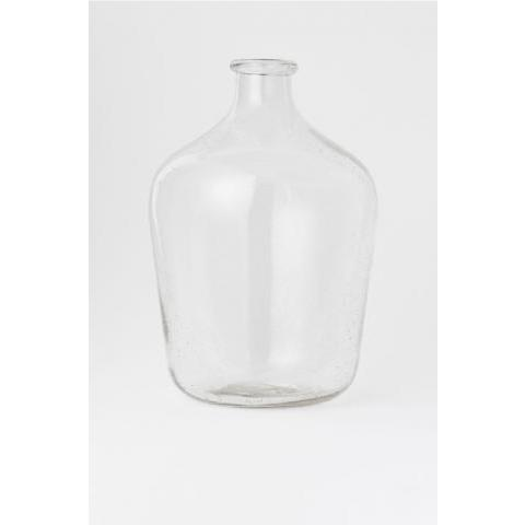 Grand vase en verre - Verre transparent - Home All | H&M FR