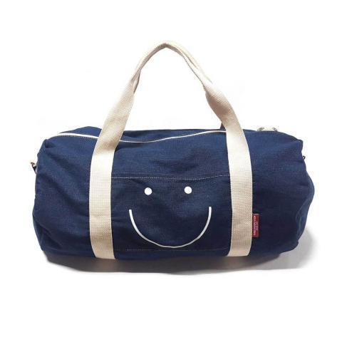 Smiley Denim Duffle Bag (Limited Fall Edition) – THREE POTATO FOUR