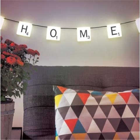 Guirlande lumineuse Scrabble Light par Paladone