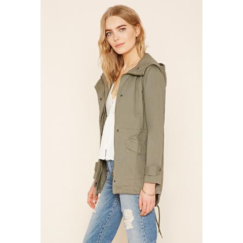 Contemporary Utility Jacket | Forever 21 - 2000220253