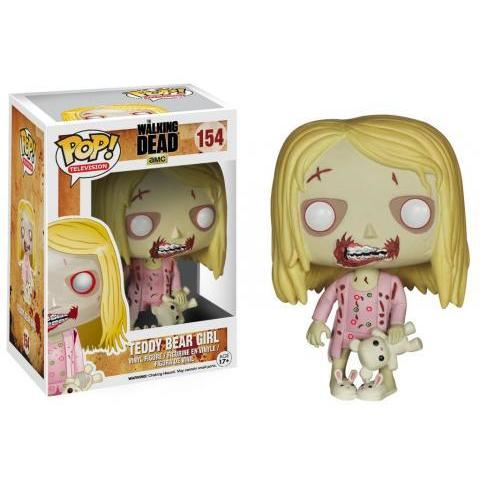 Pop! TV: The Walking Dead - Teddy Bear Girl | Funko