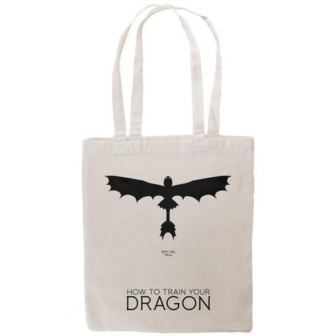 Tshirtmadness How To Train Your Dragon Poster T-Shirt Tote Bag: Amazon.fr: Chaussures et Sacs