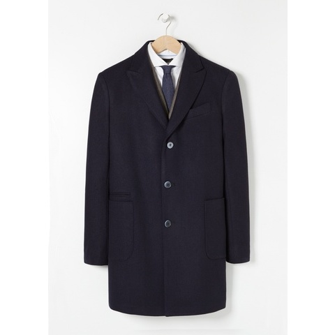 Manteau long tailored laine - Manteaux pour Homme | MANGO