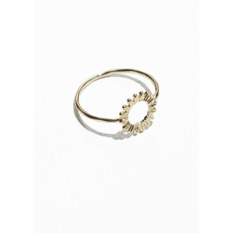 Sunflower Ring - Gold - & Other Stories