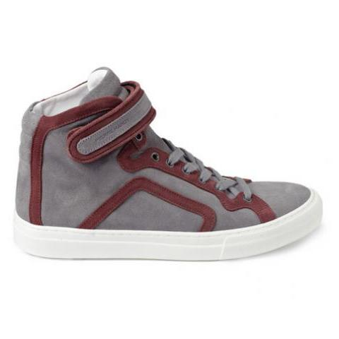 Pierre Hardy Suede High Top Sneakers | MR PORTER