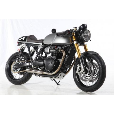 Triumph Street Twin Goes Thruxton R | BikeBrewers.com