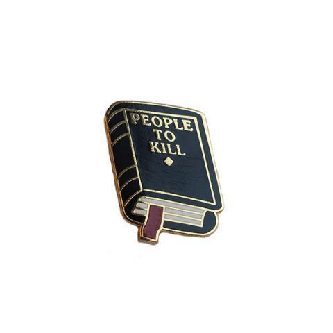People To Kill Lapel Pin – Explorer's Press
