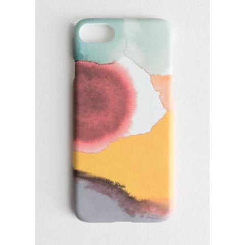 Watercolour Splash iPhone 7 Case - Red - iPhone cases - & Other Stories