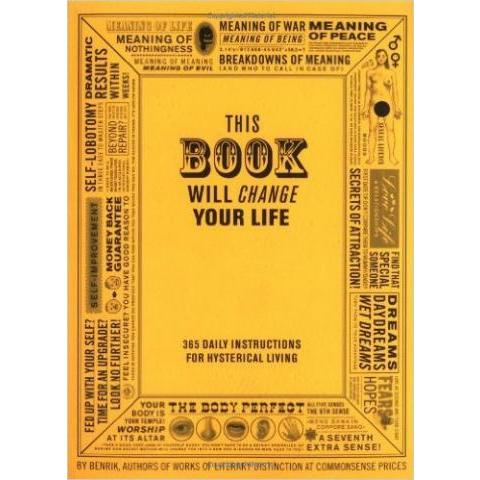 This Book Will Change Your Life: Amazon.fr: Ben Carey: Livres anglais et étrangers