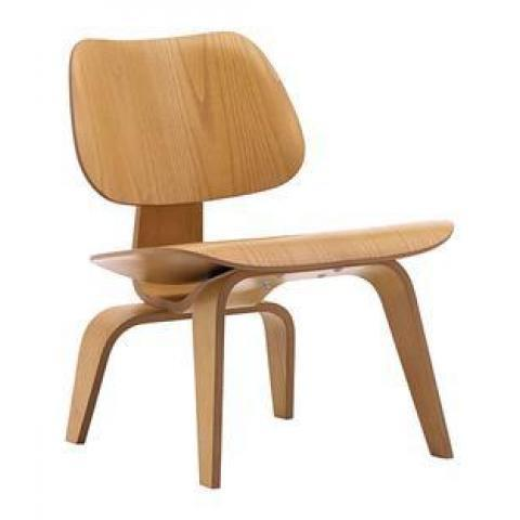 Vitra Plywood Group LCW / LCW Leather by Charles & Ray Eames, 1945 - Designer furniture by smow.com