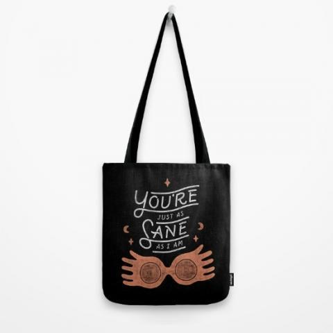 Sane Tote Bag by WEAREYAWN | Society6