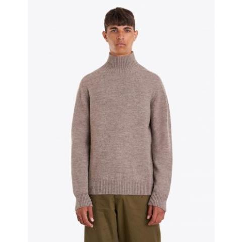 Margaret Howell - Saddle Sleeve Roll Neck Natural | TRÈS BIEN