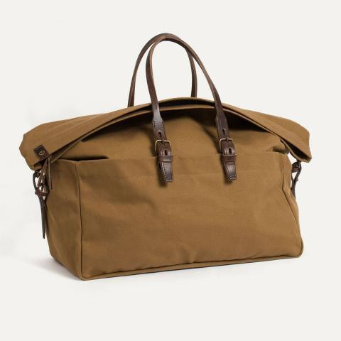 Leather & canvas travel Bag I Travel bag for Men | Bleu de chauffe
