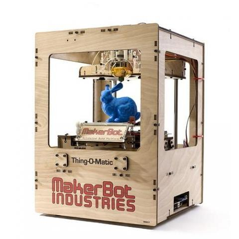MakerBot Thing-O-Matic 3D Printer Kit - MakerBot Industries