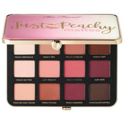 Just Peachy Matte - Palette de fards à paupières de TOO FACED sur Sephora.fr