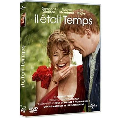 Il était temps: Amazon.fr: Domhnall Gleeson, Rachel McAdams, Bill Nighy, Lydia Wilson, Margot Robbie, Lindsay Duncan, Richard Curtis: DVD & Blu-ray