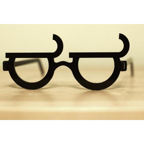 Look Of Disapproval Glasses by opticalawesome on Etsy