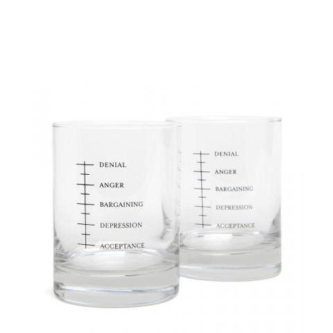 Jack Spade | Glassware - Set Of Two Glasses