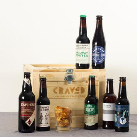 dark beer bundle by craved | notonthehighstreet.com