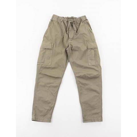Green Poplin Easy Cargo Pant by orSlow – The Bureau Belfast