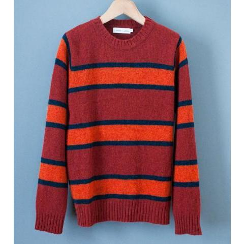 Several; 'Striped Wool Sweater' (Orange) – C'H'C'M'