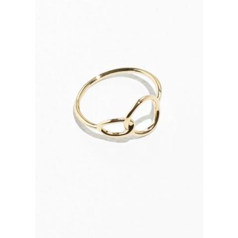 Circle Ring  - Gold - & Other Stories