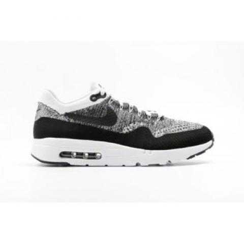 Nike - Air Max 1 Ultra Flyknit Noir - pas cher Achat / Vente Baskets homme - RueDuCommerce