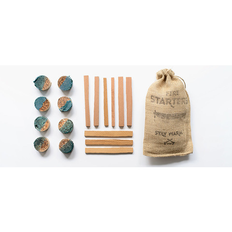 Salvaged Cedar Fire Starter Kit - Kaufmann Mercantile