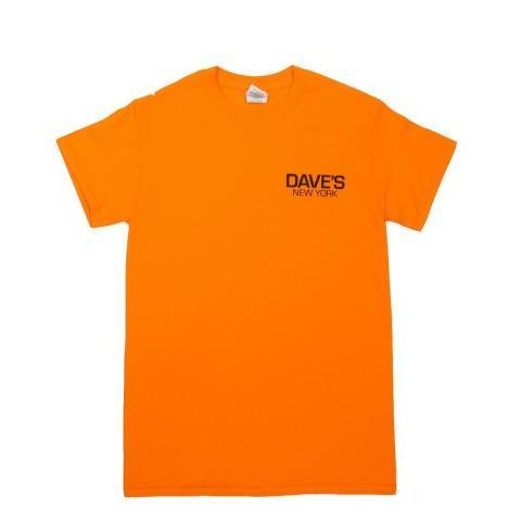 Dave's New York Short Sleeve Work Logo T-Shirt – Safety Orange byDave's New York at Dave's New York