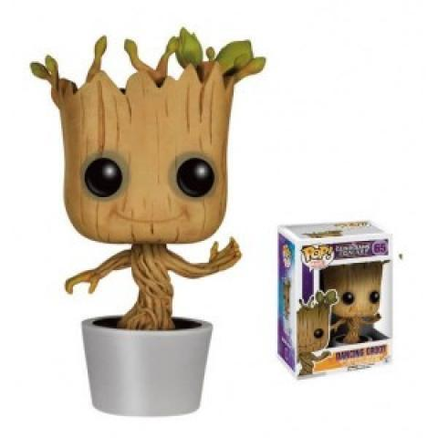 Figurine Pop! Les Gardiens de la Galaxie Dancing Groot à 14.90 €