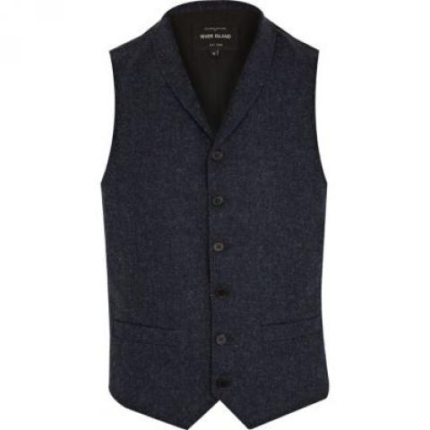 Gilet Washington bleu - costumes - promo - Homme